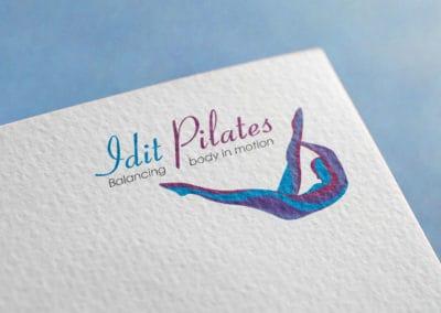 עיצוב לוגו לעידית פילטיס
