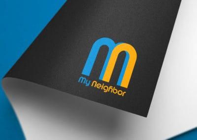 עיצוב לוגו ללאפליקצית - My Neighbor