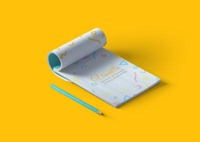 עיצוב חוברת למשרד - וונילה
