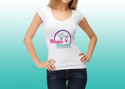 עיצוב חולצה ממותגת - מאמאדאנס