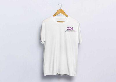 חולצת מטפלים לזואי - הבית לרפואה הוליסטית