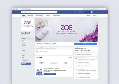 קאוור פייסבוק זואי - הבית לרפואה הוליסטית